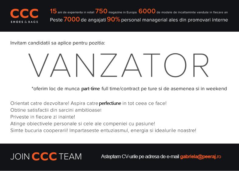 CCC-angajare