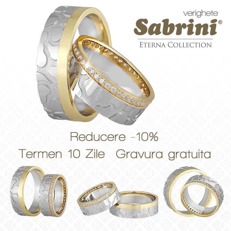 Sabrini 10 Reducere Gravură Gratuită La Verighete Shopping
