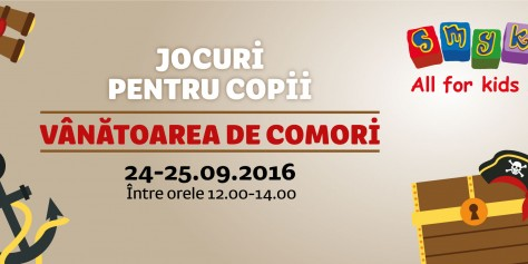 Vino și tu la Vânătoarea de Comori!