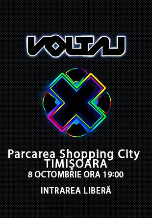 Vino la super concertul VOLTAJ de la Shopping City Timișoara!