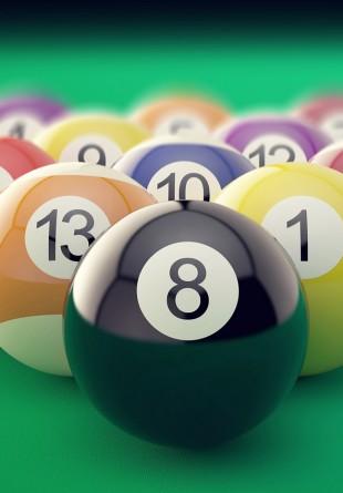 Jocuri de biliard: Bila 8