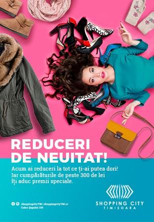 Reduceri de neuitat la Shopping City Timișoara!