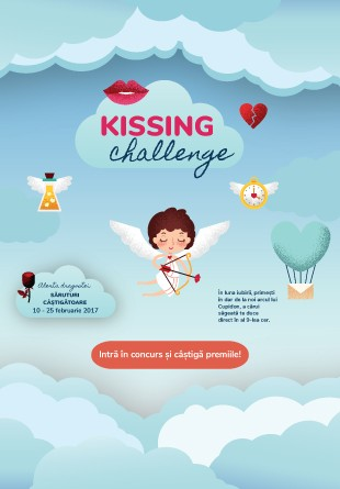 CONCURS: Acceptă provocarea sărutului și câștigă premii!