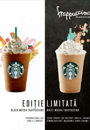 Noile băuturi reci de la Starbucks aduc vara mai aproape de tine!