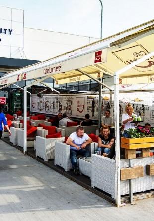 Vine vara, bine-mi pare! La Shopping City Timișoara, pe terase, e răcoare!