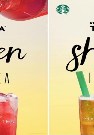 Starbucks dă startul verii cu băuturi de sezon TEAVANA și noi gustări în meniu!