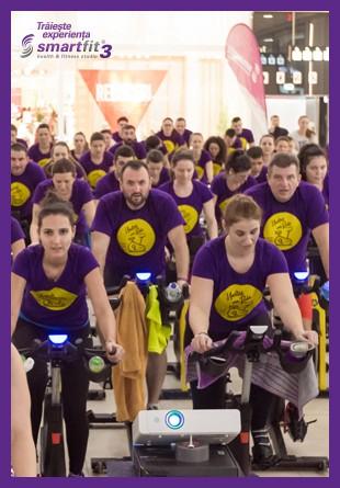 Indoor Cycling - o experiență spectaculoasă la Smartfit Studio!