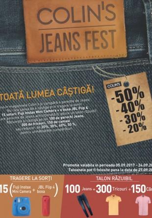 Colin's Jeans Fest - TOATĂ LUMEA CÂŞTIGĂ!