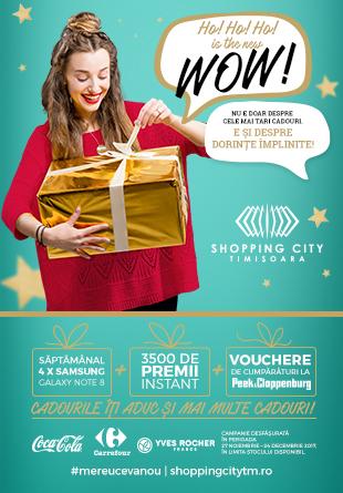 La Shopping City Timișoara, cadourile îți aduc și mai multe cadouri!