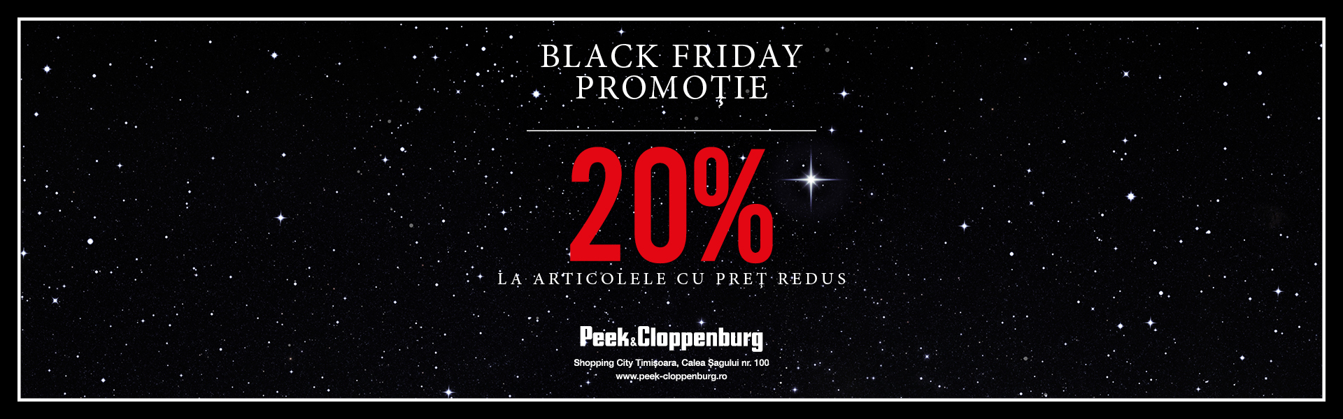 Peek & Cloppenburg Black Friday